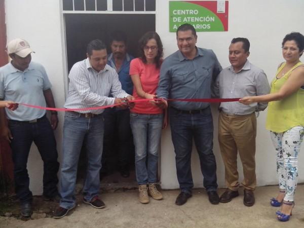 Inauguran centro de atención de programa micro energía México