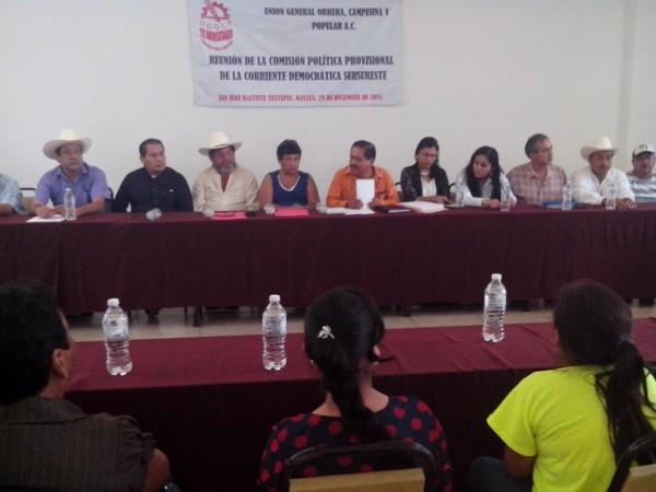 Necesaria refundación de UGOCP: Consejo Político Nacional