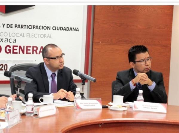 IEEPCO integra los 25 Consejos Distritales, en medio de señalamientos de afinidad política