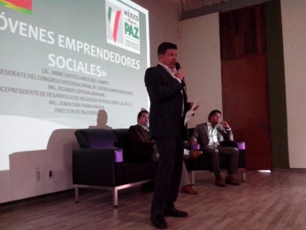 Imparten capacitación a participantes de Programa Jóvenes Emprendedores