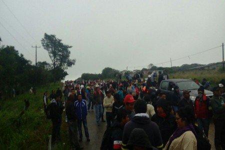 Un muerto y 6 detenidos durante protesta magisterial en Chiapas
