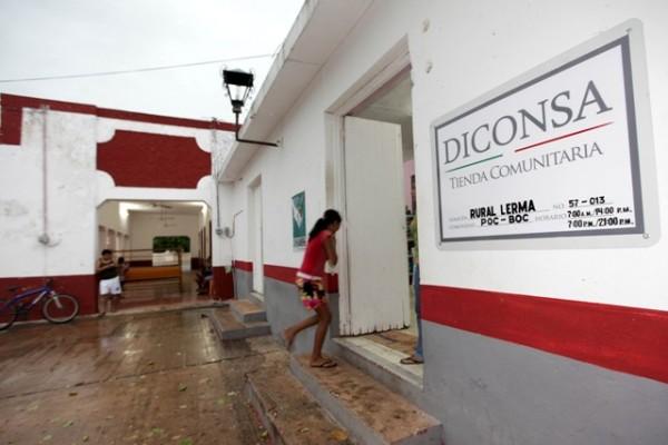 """Diconsa mejora su infraestructura con el programa """"Dignificación de Tiendas Comunitarias"""""""