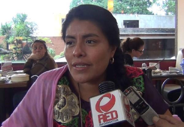 Las yeguas estamos preparadas para estar al frente: Eufrosina Cruz Mendoza