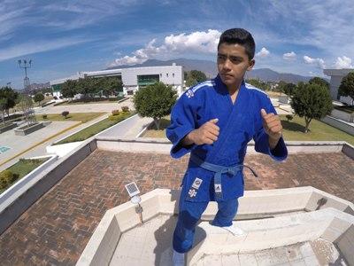 Con Rodrigo Martínez nace promesa del judo en la URSE