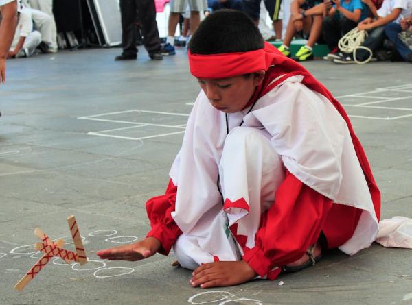 Deportes tarahumaras en Encuentro Estatal de Juegos y Deportes Autóctonos