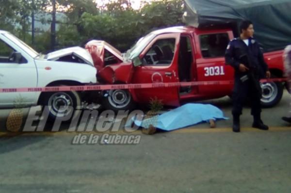 Una victima y seis heridos, deja choque en carretera Tuxtepec-Valle Nacional
