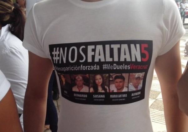 Hemos trabajado para encontrar a los cinco jóvenes desaparecidos: Fiscalía de Veracruz