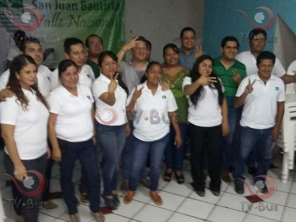 Partido Verde toma protesta a su nuevo comité municipal en Valle