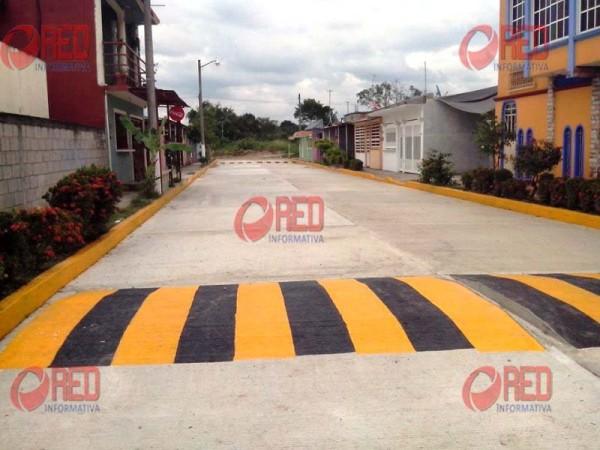 Inauguran obras de pavimentación en El Nanche y Residencial del Sur