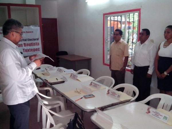 Instalan Consejo Distrital del IEEPCO