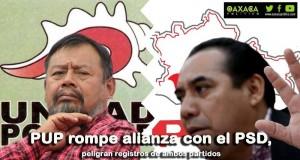 PUP rompe alianza con el PSD, peligran registros de ambos partidos
