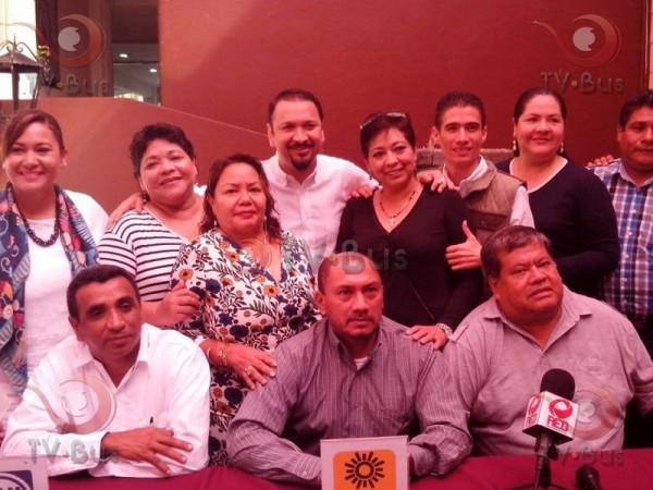 PRD, PAN y PT anuncian que irán juntos en elección distrital y municipal