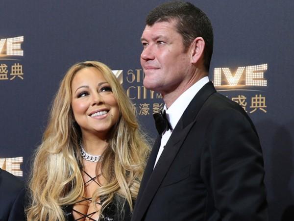Mariah Carey le da el 'sí' a su novio James Packer