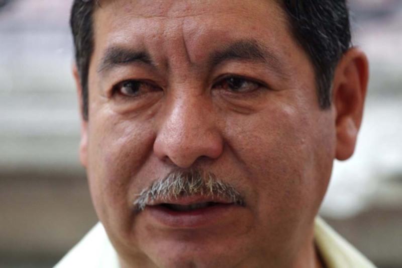 Hospitalizan a Rubén Núñez, exlíder de la Sección 22