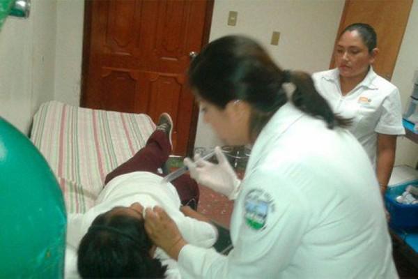 Se intoxican 30 niños en Oaxaca con gas usado por policías federales