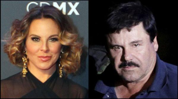 """Causa sensación corrido sobre Kate del Castillo y """"El Chapo"""""""