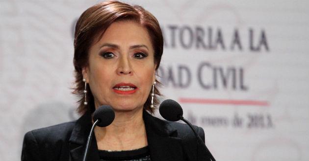 Rosario Robles comparecerá ante el Pleno de Diputados
