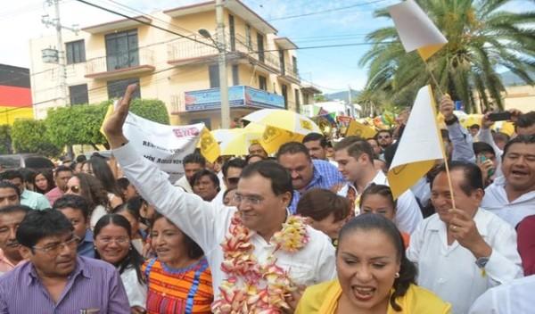 Benjamín Robles se registra como precandidato del PRD a la gubernatura de Oaxaca