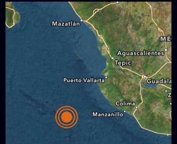 Se registra sismo de 6.5 en Jalisco