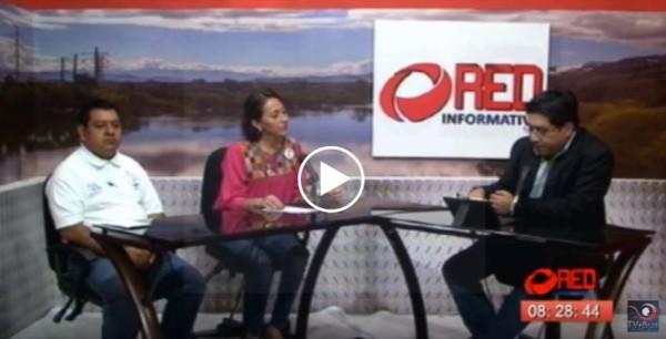 Entrevista con personal del DIF sobre las actividades del Día Internacional de la Discapacidad