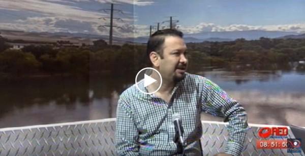 Francisco Niño coordinador de enlace legislativo PRD en el estudio
