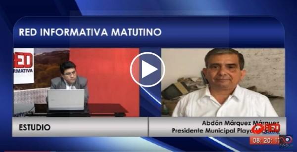 Me preocupa que uniformados con placa nos secuestren: Presidente Playa Vicente