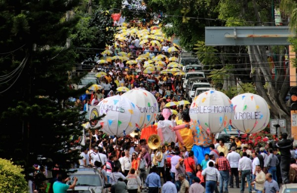 ¡Vamos con todo!, a Unir Oaxaca: Benjamín Robles