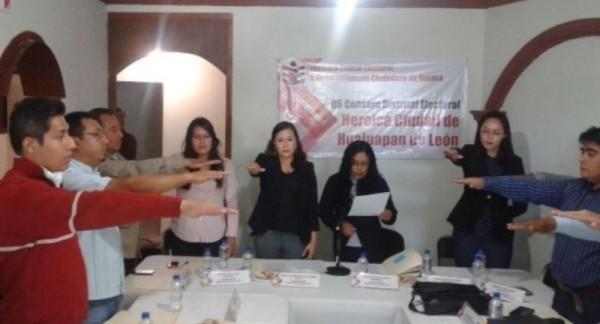 Integra IEEPCO consejos distritales en la Mixteca