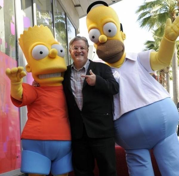 Creador de 'Los simpson' trabajará en nueva serie animada