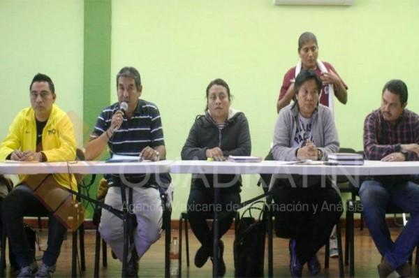 Ni solicité licencia, ni hemos reconocido al IEEPO, asegura Rubén Nuñez