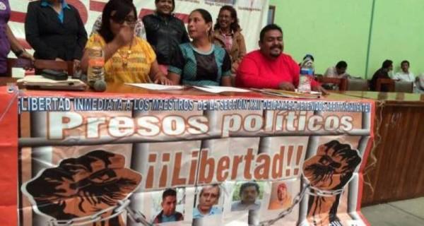 Preparan protestas familiares de profesores detenidos