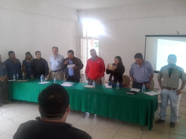 Integran CODESOM en Jacatepec