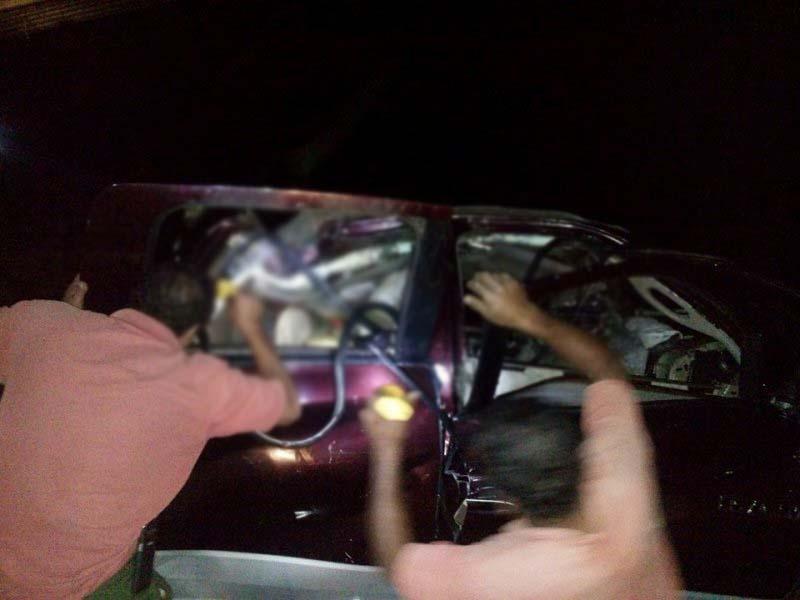 3 personas pierden la vida, por volcadura en el Istmo
