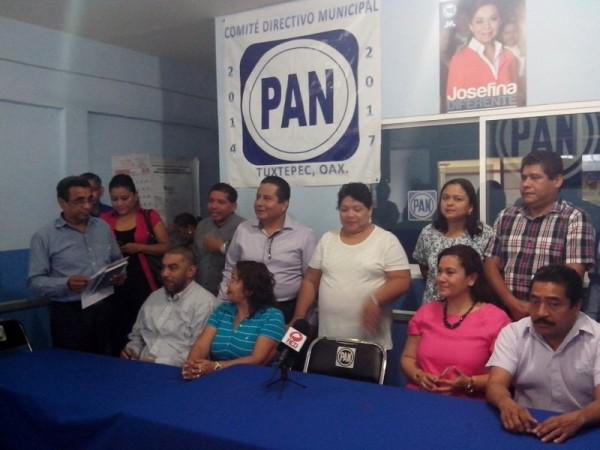 Acción Nacional presenta lista de aspirantes