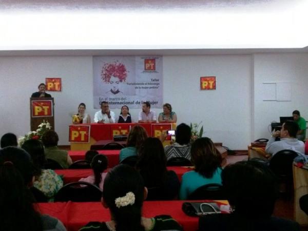 Exigirán mujeres del PT, espacios en Coalición