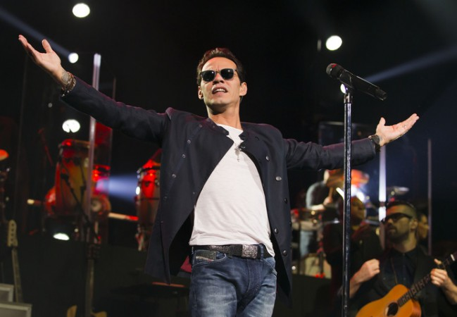 Marc Anthony insulta a Donald Trump en un concierto