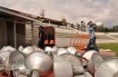 Retiran estructuras del estadio Benito Juárez