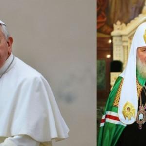 Por primera vez en la historia se reunirán Papa Francisco y líder ortodoxo ruso