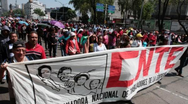 CNTE anuncia nueva etapa de movilizaciones