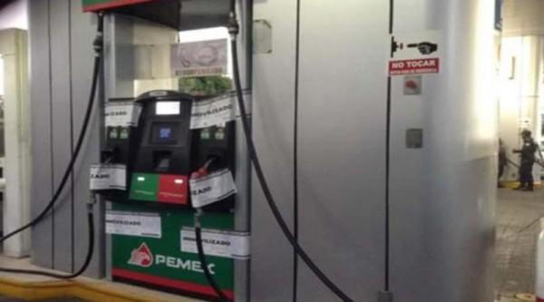 Inmoviliza Profeco bombas de gasolinera en Oaxaca