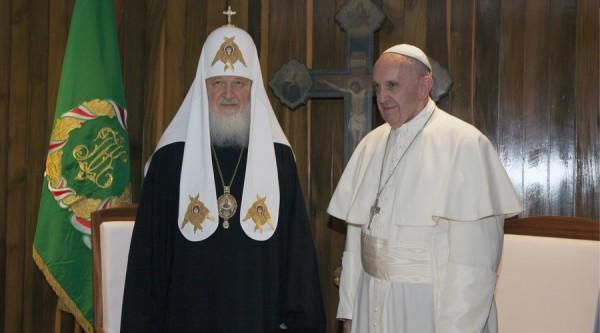 Agradece el Papa a Cuba por histórica reunión