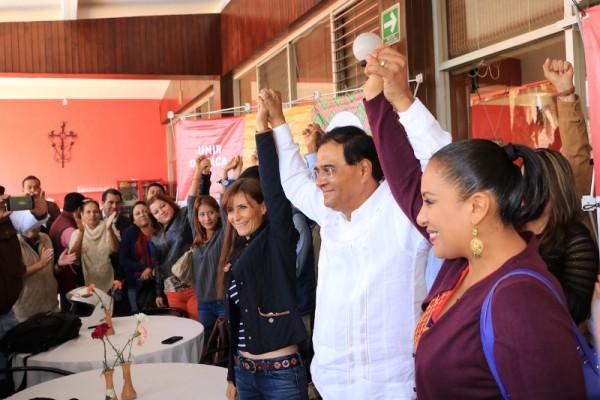 Benjamín Robles en pie de lucha;  inicia nueva ruta para Unir Oaxaca