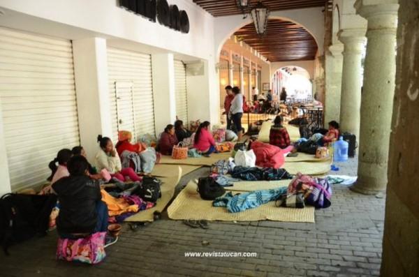 CODEDI y COOA toman comercios en Oaxaca