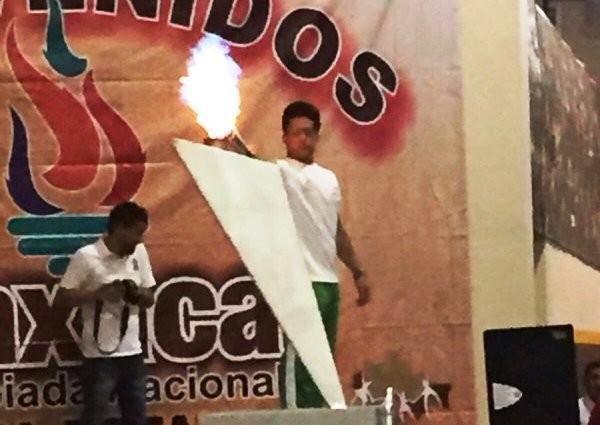 Encienden pebetero, Olimpiada Nacional etapa estatal Oaxaca 2016