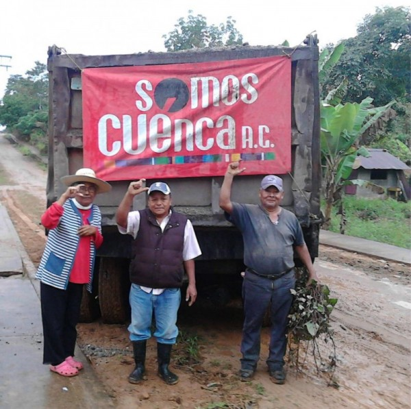 Con Somos Cuenca, El Jimbal, Camarón y Manantiales ya rehabilitan sus caminos