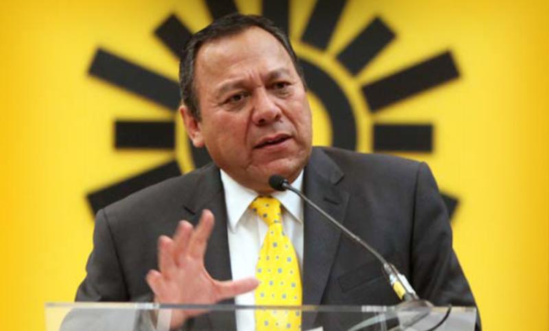 Niega Zambrano crisis en el PRD de Oaxaca