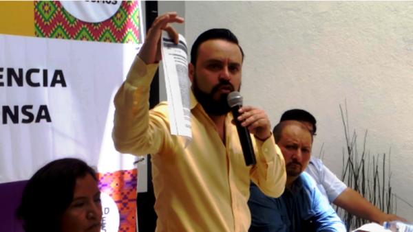 'Gabino arma fraude contra Benjamín' a favor del PRI