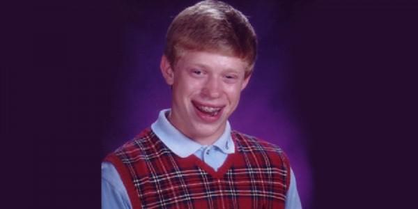 Así luce Bad Luck Brian, ¡4 años después del exitoso meme!