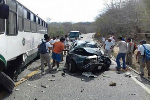 2 muertos en carretera de la Costa