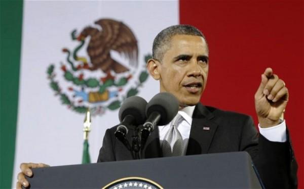Pidió Obama al Congreso de EU 133.5 mdd para apoyar lucha antinarco de México